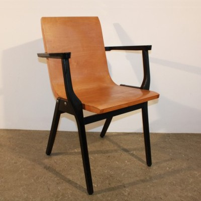 Set of 4 dinner chairs from the fifties by Roland Rainer for De Toekomst