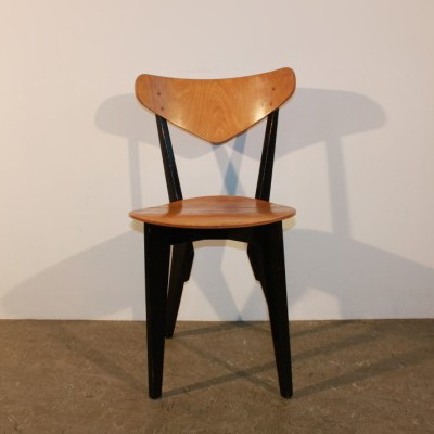 Goed Wonen Groep & dinner chair from the fifties by Wim den Boon for De Toekomst