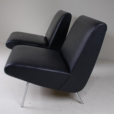 2 x lounge chair by Joseph André Motte for Steiner, 1960s