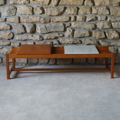 Bench from the fifties by unknown designer for unknown producer