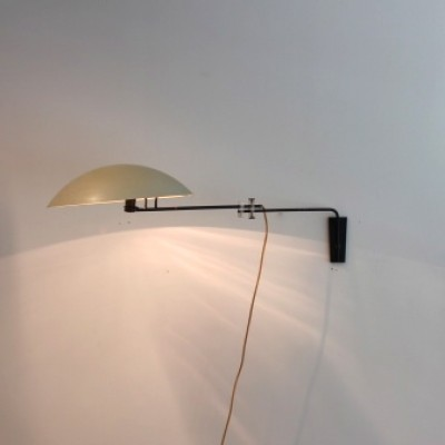 Philips NX 23 wall lamp from the forties by Louis Kalff for Philips