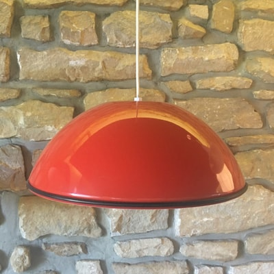 2 x Relemme hanging lamp by Achille Giacomo Castiglioni for Flos, 1960s