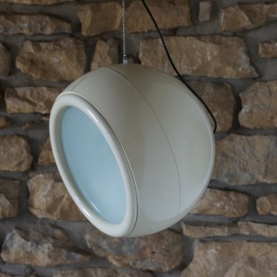 Pallade Lamp hanging lamp by Studio Tetrarch for Artemide, 1960s