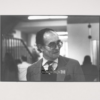 Portrait of Vico Magistretti by Vico Magistretti, 1970s