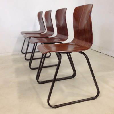 3 x Thur-op-Seat dining chair by Flötotto, 1970s