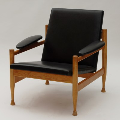 2 lounge chairs from the sixties by unknown designer for Interier Praha