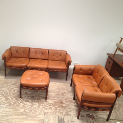 Seating group from the sixties by Arne Norell for Arne Norell AB