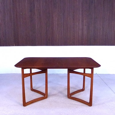 Extendable Dining Table by Peter Hvidt and Orla Mølgaard Nielsen for France and Daverkosen