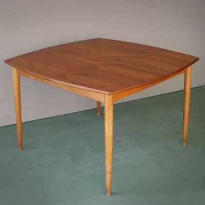 Adjustable Danish Table by Arne Hovmand Olsen for Mogens Kold
