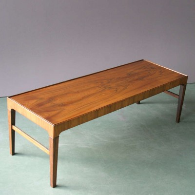 Coffee table from the fifties by Severin Hansen for Haslev Møbelsnedskeri