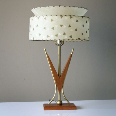 Richard Singer & Sons desk lamp, 1950s