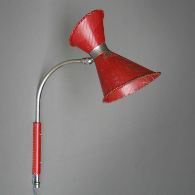 Wall lamp by Mathieu Matégot for Atelier Matégot, 1950s