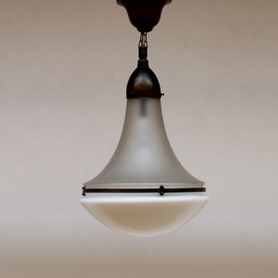 Hanging lamp by Peter Behrens for AEG, 1920s