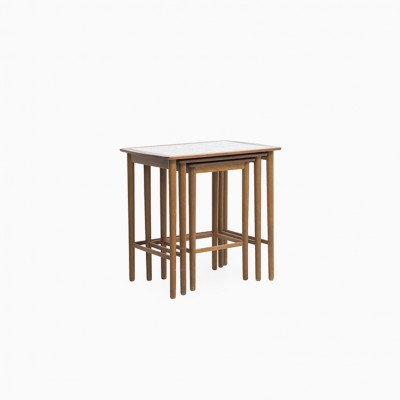 Nesting Table by Unknown Designer for Unknown Manufacturer