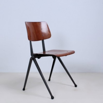 10 x Stacking dinner chair by Galvanitas, 1950s