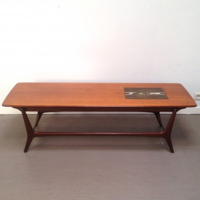 Coffee table from the sixties by Louis van Teeffelen for Wébé