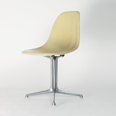 10 x DSR La Fonda dining chair by Charles & Ray Eames for Herman Miller, 1960s