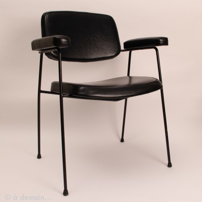CM197 lounge chair by Pierre Paulin for Thonet, 1950s