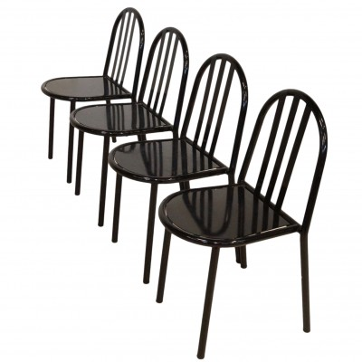 Set of 4 dining chairs by Robert Mallet Stevens for Driade, 1980s