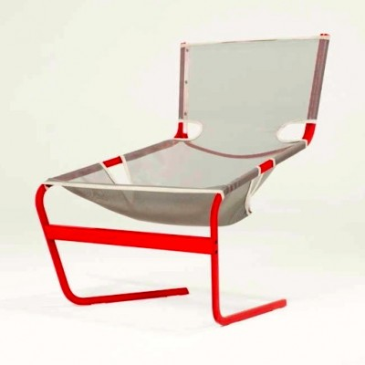 Artifort F444 lounge chair from the sixties by Pierre Paulin for Artifort