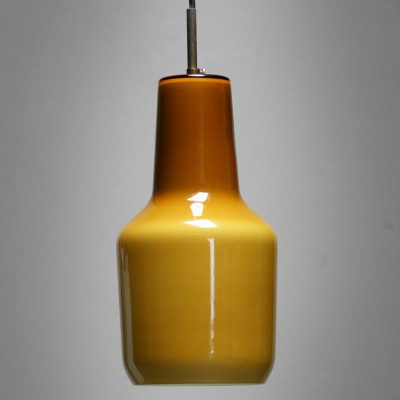 Hanging lamp by Massimo Vignelli for Venini & C. Murano, 1950s