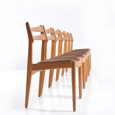 Set of 6 Vamo Sønderborg dining chairs, 1960s