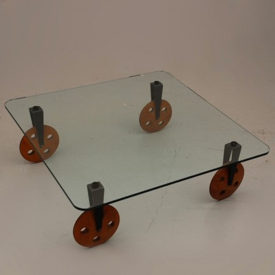 Coffee table from the sixties by Gae Aulenti for Fontana Arte