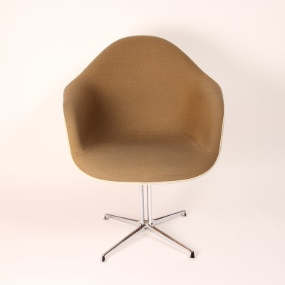 2 x DAL + La Fonda base dining chair by Charles & Ray Eames for Herman Miller, 1960s