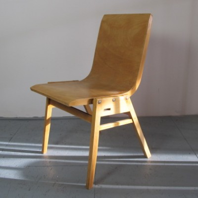 4 Stadthalle dinner chairs from the fifties by Roland Rainer for unknown producer