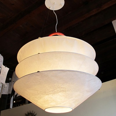 Floatation hanging lamp from the eighties by Ingo Maurer for Design M