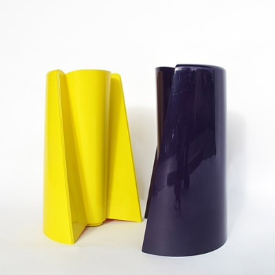2 x Pago Pago vase by Enzo Mari for Danese, 1960s