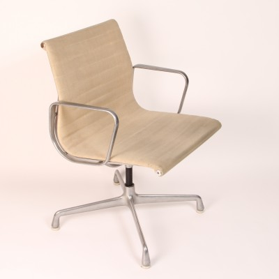 4 x Aluminium Group dining chair by Charles & Ray Eames for Herman Miller, 1950s