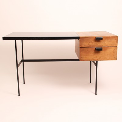 CM 141 writing desk by Pierre Paulin for Thonet, 1950s