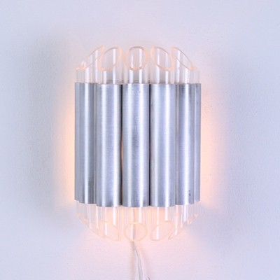 Septiem wall lamp by Raak Amsterdam, 1970s