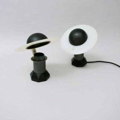 Pair of Le Stelle 1560 wall lamps by Paolo Piva for Arteluce, 1980s