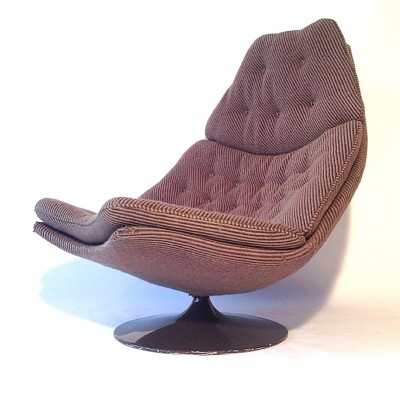 F588 Lounge Chair by Geoffrey Harcourt for Artifort