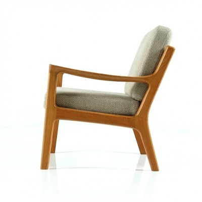 Senator lounge chair from the sixties by Ole Wanscher for Cado