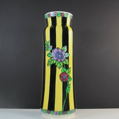 2 x Set 681. shape 720 vase by Charles Catteau for Keramis, 1930s