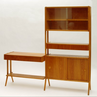 Monty wall unit from the sixties by unknown designer for Tatra Nabytok NP