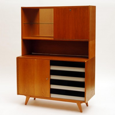 Wall unit from the sixties by unknown designer for Interier Praha