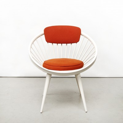 Cirkle Lounge Chair by Yngve Ekström for Swedese