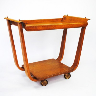 PB01 serving trolley from the fifties by Cees Braakman for Pastoe