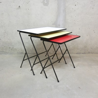Nesting Table by Unknown Designer for Pilastro