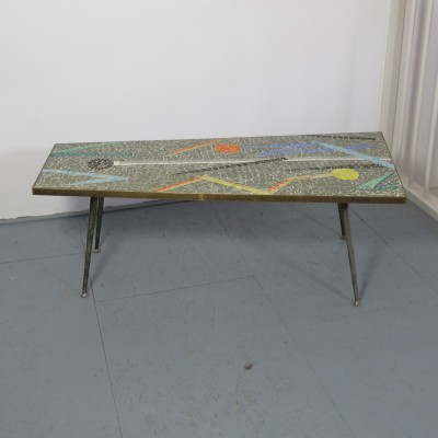 Coffee table from the fifties by unknown designer for Boco