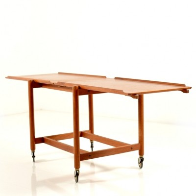 Coffee Table serving trolley by Poul Hundevad for Hundevad & Co, 1960s