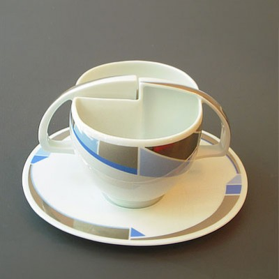 Cup & saucer by Antje Brüggemann for Rosenthal