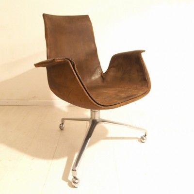 Bird dinner chair by Preben Fabricius for Alfred Kill, 1950s