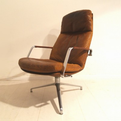 FK 86 lounge chair by Preben Fabricius for Alfred Kill, 1950s