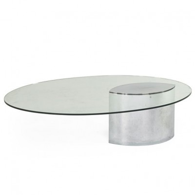 Lunario coffee table from the seventies by Cini Boeri for Knoll
