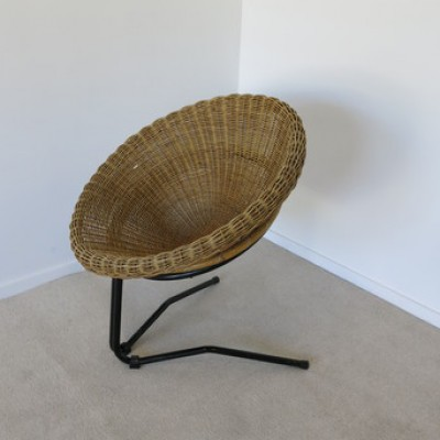 Lounge Chair by Arnold Bueno de Mesquita for Rohé Noordwolde